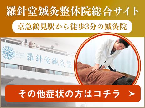 羅針堂鍼灸整体院総合サイト|京急鶴見駅から徒歩3分の鍼灸院|ヘルニア以外の症状の方はコチラ