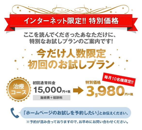 初回お試し特典(3980円)