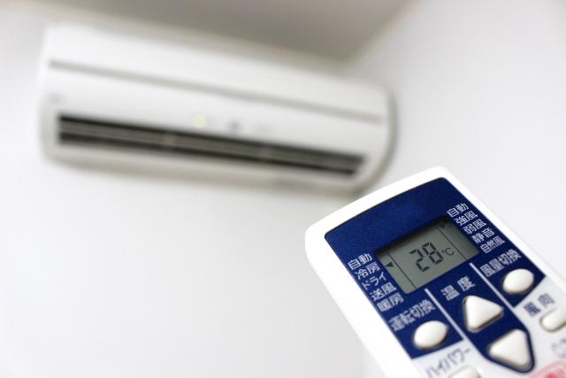 冷暖房による腰痛