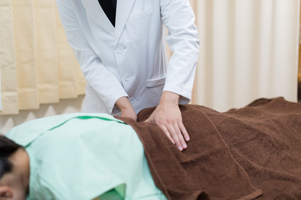 羅針堂鍼灸整体院の整体の手技について